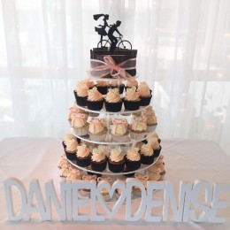 wedding cucake tower gold coast