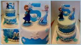 Frozen Celebration Cake Gold Coast