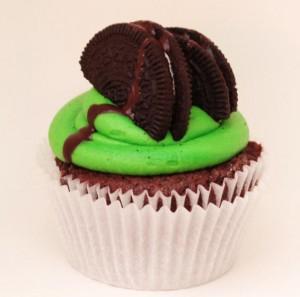 Green Cupcake Cupcakes Gold Coast