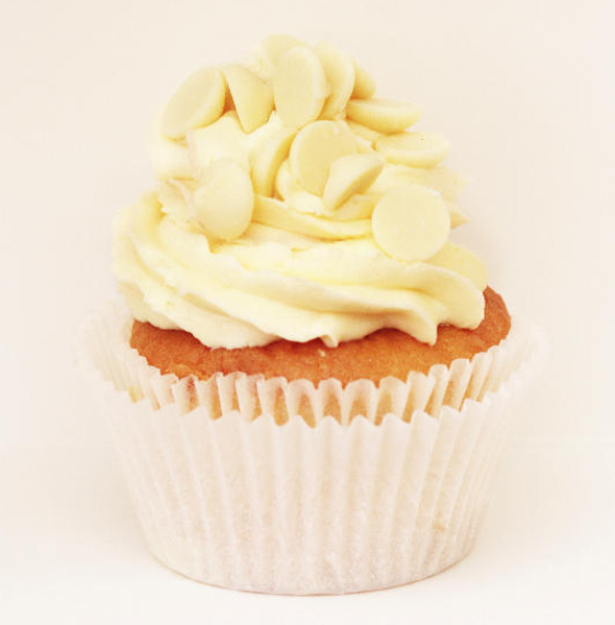 White Chocolate Cupcakes Contact us white chocolate cupcake – the ...